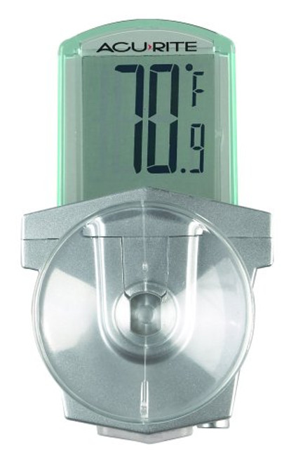 AcuRite Digital Outdoor Window Thermometer 00799
