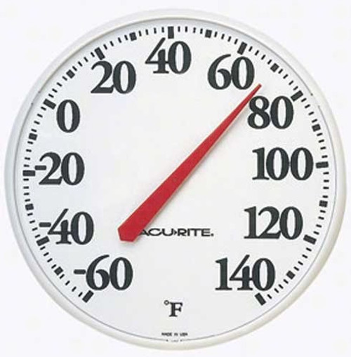 """AcuRite Indoor and Outdoor Thermometer 12.5"""""""