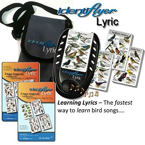 Identiflyer Lyric 140 Birds & Frogs Kit Includes Machine, 3 & 2 Cards set & Case