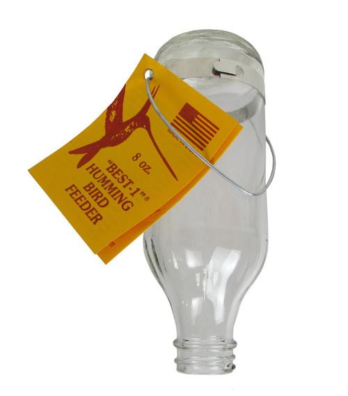Original Best-1 Hummingbird Feeder 8 oz Replacement Glass Bottle Best 1 USA