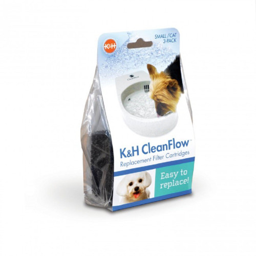 Pack-of-3 K&H Pet Products CleanFlow Replacement Filters - Small 2521