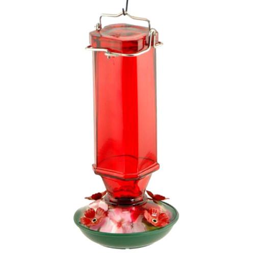 Audubon/Woodlink Vintage Glass Hummingbird Feeder NA35241