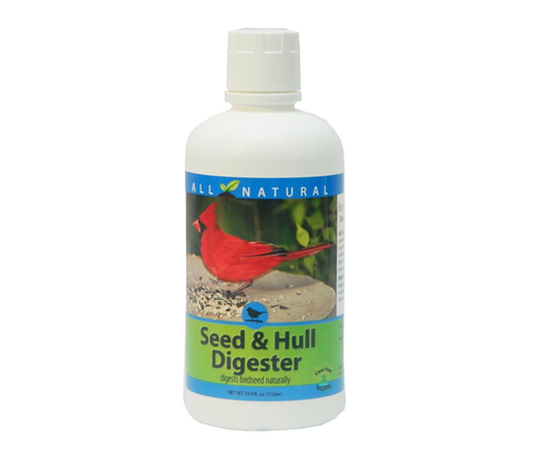 Care Free Enzymes Seed & Hull Digester Made in USA 94727D 33.9 oz.