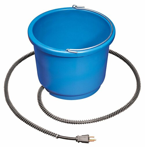 Allied Precision Heated Bucket PR9HB - For Medium To Large Dogs 9 qt.
