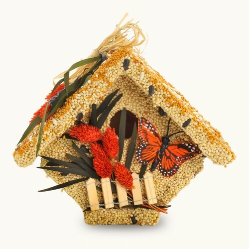 Mr. Bird All Season Wren Casita Wild Bird Seed Birdhouse 1.5 lbs.