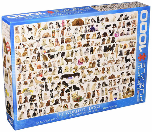 EuroGraphics The World of Dogs Jigsaw Puzzle (1000-Piece)