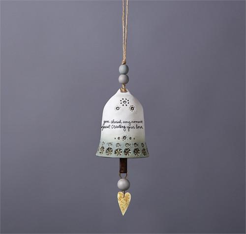 Studio M Wedding Ceramic Bell