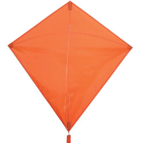 """In the Breeze Orange Colorfly 30"""" Diamond Kite"""