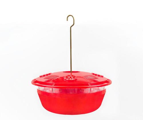 Red Humm-Yumm Protein Plus Nectar Hummingbird Feeder