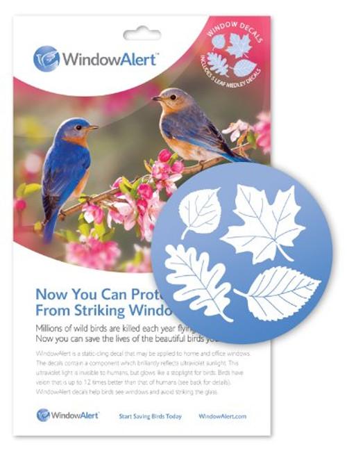 Window Alert Leaf Medley Decal (5 Per Package)