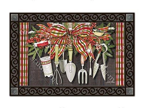 MagnetWorks Winter Gardening MatMates Doormat