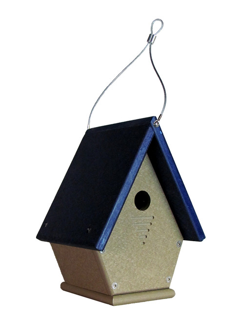 JCs Wildlife Wren, Chickadee, and Warbler Chateau Birdhouse