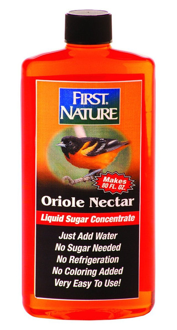 First Nature 3087 Orange Oriole Nectar Concentrate (Makes 80 oz.) 16 oz.