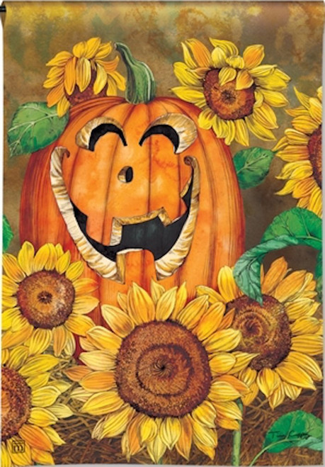 Breeze Art Sunflower Jack Garden Flag #31142