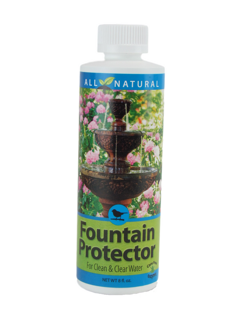 Care Free Enzymes Fountain Protector Made in USA 95999D 8 oz. (1, 2 and 3 Packs)