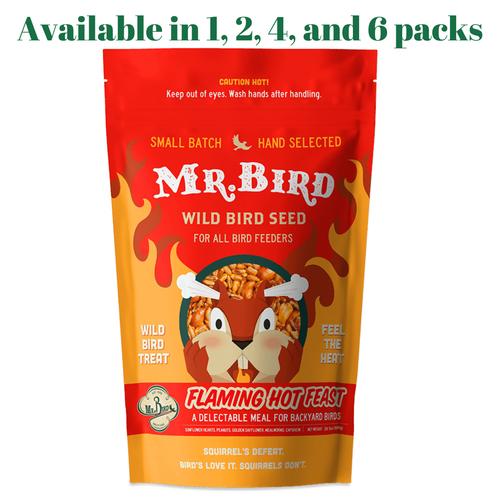 Mr. Bird Flaming Hot Feast Large Loose Seed Bag 4 lbs.