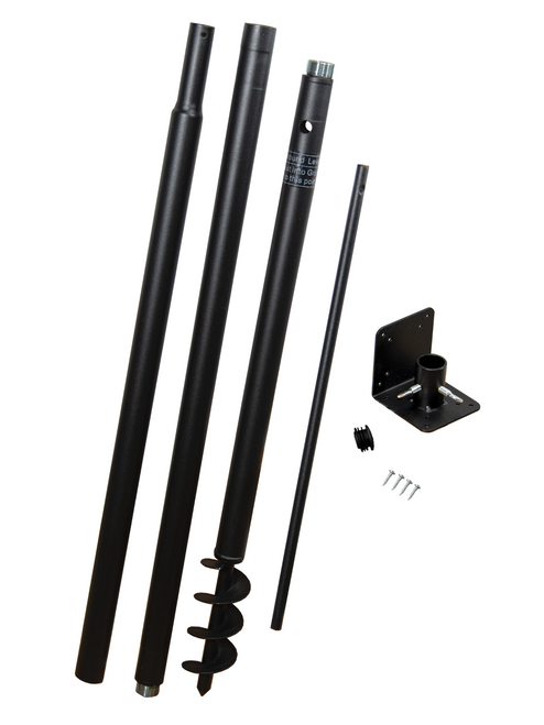 Squirrel Stopper Universal Pole Kit - Great for Bird Houses and Bird Feeders