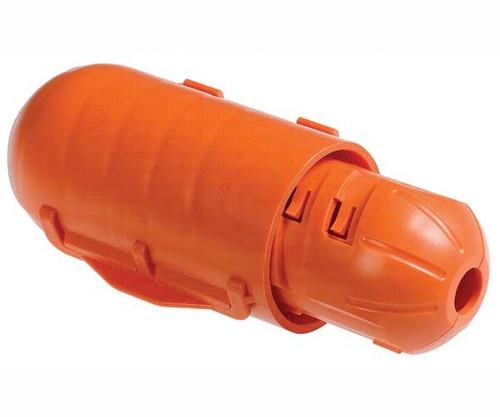 Click Shield Weather-Resistant Cord Lock - Orange
