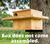 JCs Wildlife Large Barn Owl Box with Exercise Platform: Do It Yourself Assembly Kit