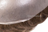 """Mens Toupee M111 8""""x10"""" Thinnest Skin Base Hairpiece Disposable"""