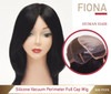 Silicone Skin Hair Loss Medical Wig Fiona