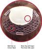 Premium Human Hair Magic On 7608 Mono Silk Top Women Integration Hair System