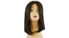 Premium Human Hair French Top Weft Back Women Wig - Noya