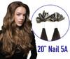 5A Nail-Tip Keratin Bond Hair Extensions