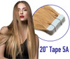 "20"" Tape In Hair Extensions 10 Strands 5A Funky Color"