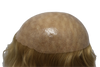 Full Clear Skin Base Top Hair Pieces for Women