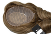 """Human Hair Toppers for Women with 18"""" Long Hair"""