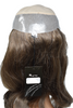 PW2016 Lady's Partial Wig 3/4 Wig  in 16 inch Human Hair