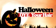 How to dye your wig, hair extensions temporarily for Halloween