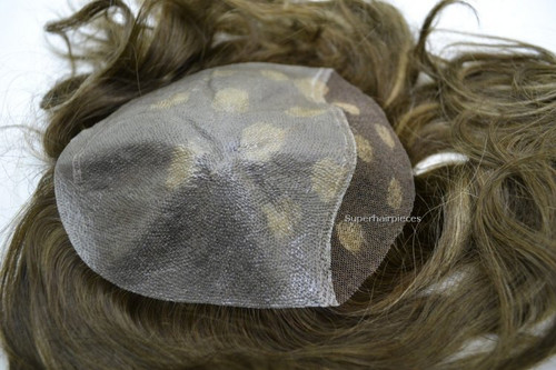 Women's Top Hairpiece Clear See Through Skin Lace Front T51