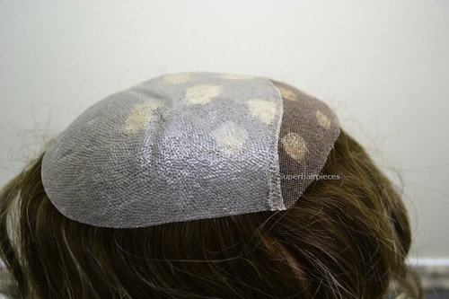 Women's Top Hairpiece Clear See Thorough Skin Lace Front T51