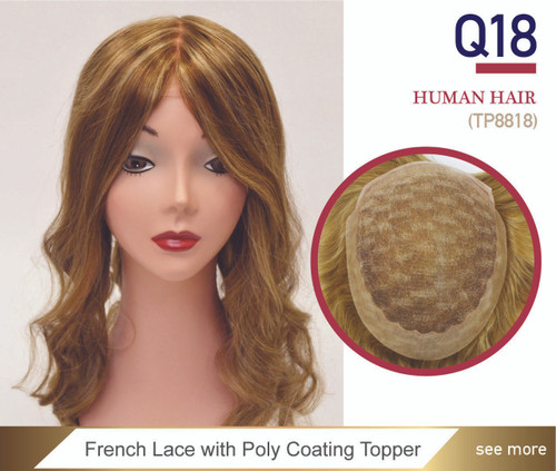 Queen 18 Stock French Lace Women's Top Closure
