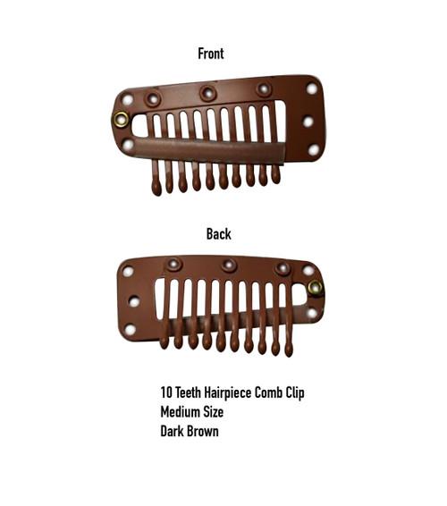 Ten Teeth Wigs Hairpiece Comb Clip