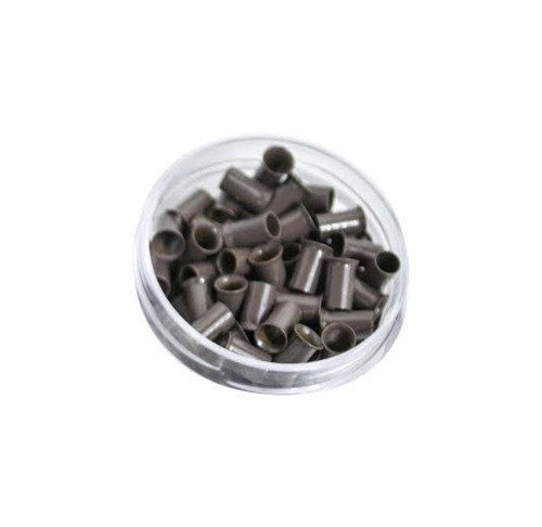 Copper Beads Micro Link Cold Fusion Beads  100 beads medium Brown Color
