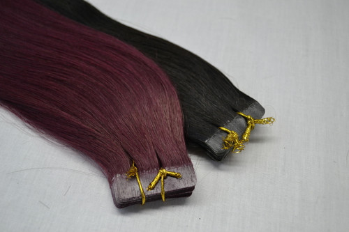 Overstock Tape in Hair Extension for Clearence - 2A level