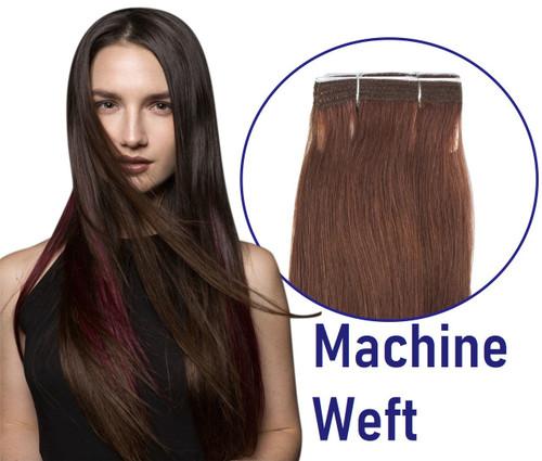 Machine Weft Hair Extensions 100 Grams Human Hair