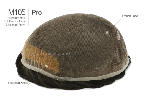 M105PRO Mens Hairpiece In Stock