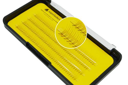 Eyelash cluster extension D-Curl 11 mm