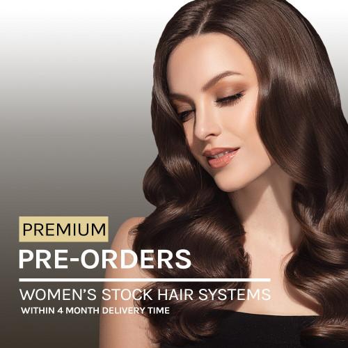 Pre-Order Women's Premium Stock Hairpieces