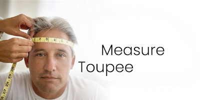How to measure your scalp for your men's toupee
