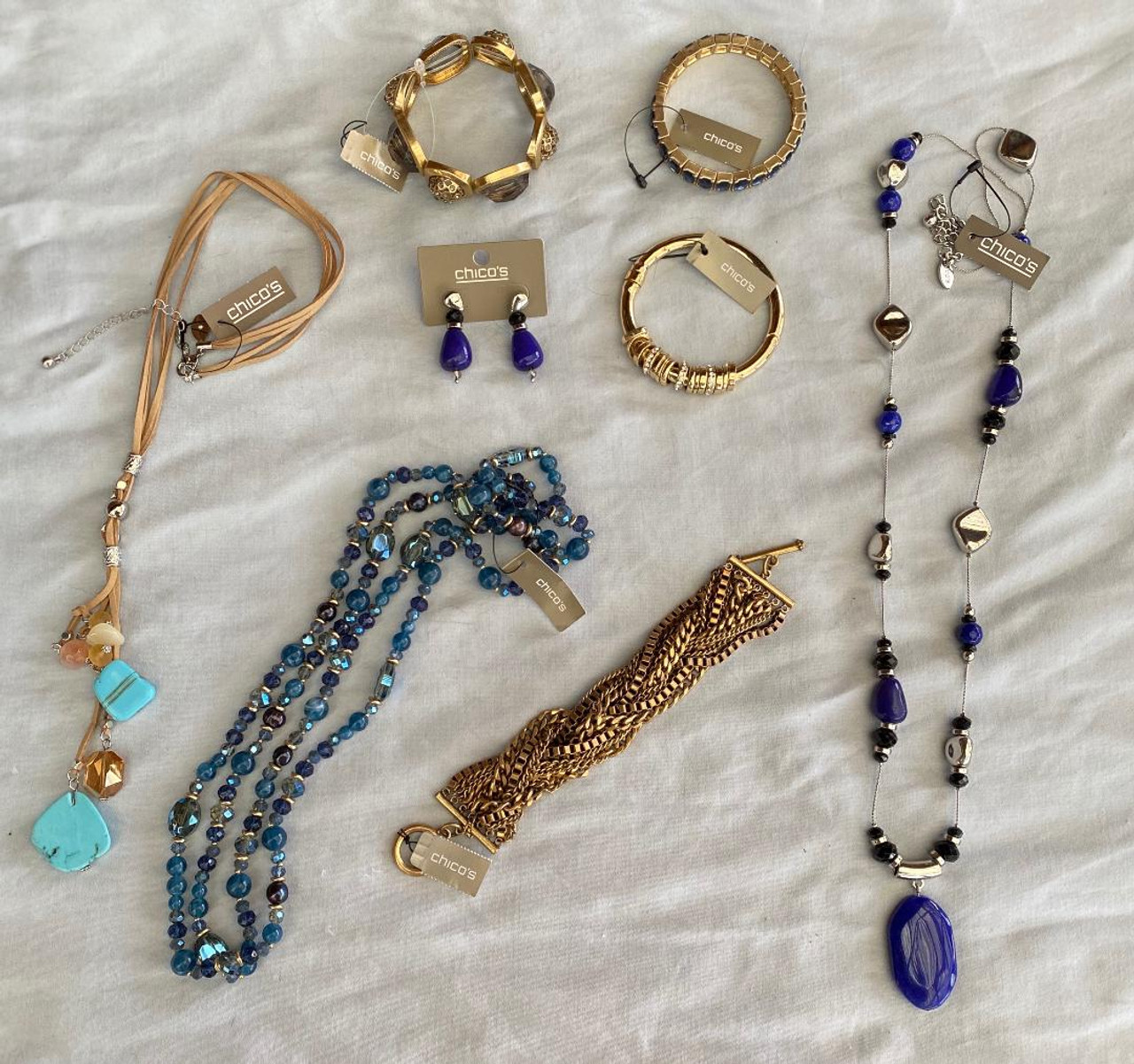50 pieces High End Designer Name Brand Jewelry Chico/'s QVC ect