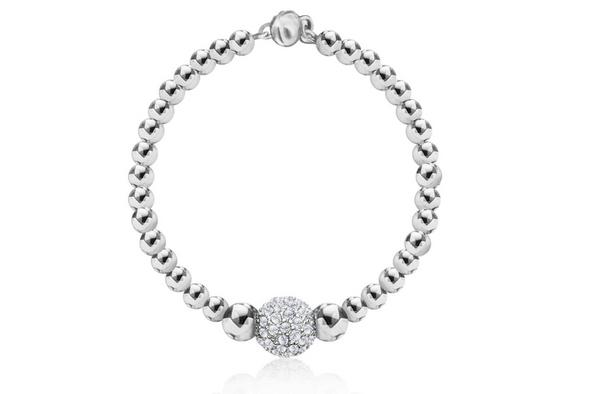 Beaded Bracelet made with Swarovski Crystals