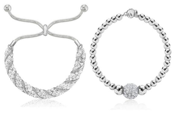 12 pieces All new!!  Swarovski Elements Bracelets - HOTT SELLERS!!!