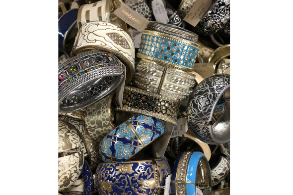 10 lbs Bangle Bracelet  LOT Some good Some Not  -Only few lots available!