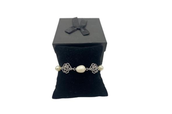 Ericha's   Pearl Genuine stone Bracelet Handmade