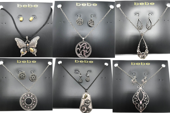 50 Bebe Necklace & Earring Sets -Pre priced $48.99 each